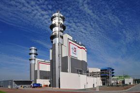 800MW GuD-Kraftwerk Hamm-Uentrop von Trianel (Quelle: trianel.com)
