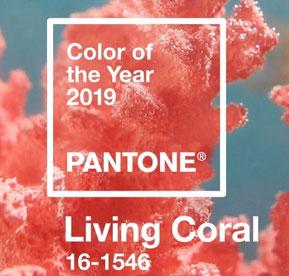 LIVING CORAL - PANTONE 16-1546