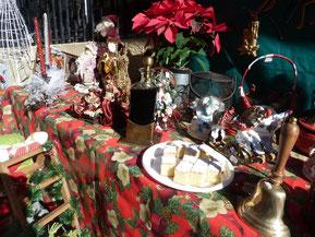 Navidad, bizcocho, vino dulce