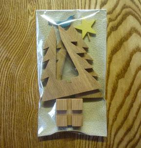 クリスマスツリーラッピング