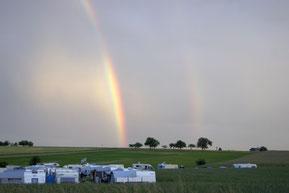Camping bei Veranstaltungen