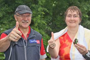 Beate Heydenbluth und Johannes Blume wollen sich auch in Zukunft weiter die Laufschuhe schnüren.
