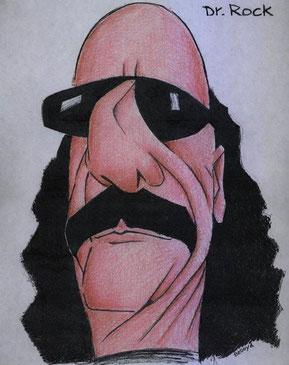 Dr. Rock, por Bedoya / Fuente Facebook