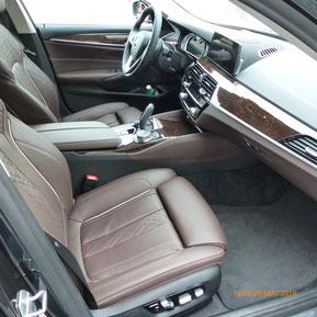 BMW 530d Limousine - Sitzheizung vorne und hinten
