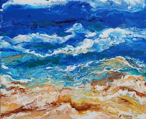 Splash Acrylic on canvas, 38x46cm, 05-2018