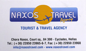 Naxos Travel partner of Enjoy Naxos Greece