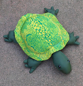 M-Turtle, Sandtier Schildkröte