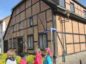 """""""Ältestes Haus"""" in der Großen Seestraße"""