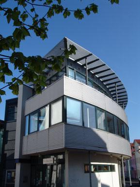 Rotunde der Stadtbibliothek Am Rathausplatz 2