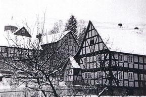 Frühere Ansicht des Hauses Rosenstock - Foto: Sammlung Peter Schaaf, Buchenau
