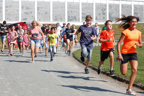 Sport- und Spielfest bei der TSG in Lechhausen 10.09.16 - Foto: Thorsten Franzisi - Freiwilligen-Zentrum Augsburg