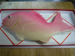 鯛の練りきり