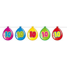 """Slinger ballonnen """"10"""" 10m € 2,99"""