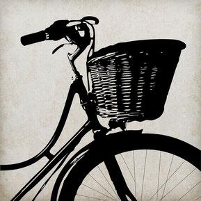 bicyclette pou location de vélos par l'association Dynamob à Loudun