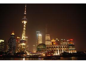 川頭くん撮影:上海の夜景