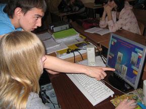 На уроке (май 2011 г.)