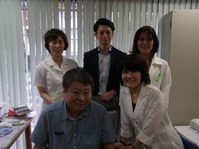 リンパのしくみとリンパマッサージについて講演させていただいた小石川メンタルクリニックでの写真