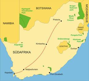 Rovos Rail Südafrika Kapstadt - Pretoria