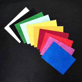 Briefumschläge aus Lokta-Papier
