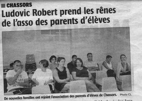 Article Charente Libre du 2 octobre 2014