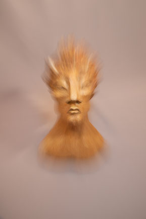 """Sculpture Juan José Ruiz dit """"Caco"""" ...Photographie Christophe Spiesser"""