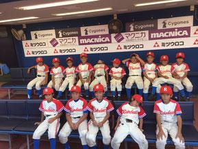 ティーボール野球神奈川県大会