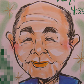 千葉県のイベントに似顔絵師