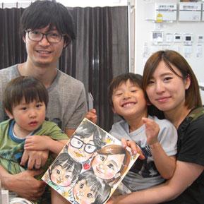 埼玉県の出張似顔絵イベント