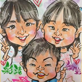 栃木県の似顔絵イベント