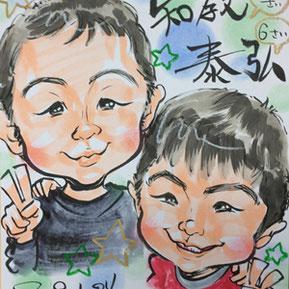 千葉県全域に出張似顔絵