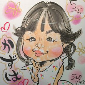 栃木県にプロ似顔絵師