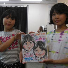 埼玉県に似顔絵イベント企画