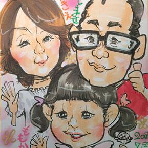 プロ似顔絵アーティスト-栃木県小山市