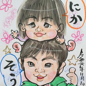 茨城県のプロ似顔絵師
