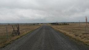 Wegebau unbefestigter Straßen