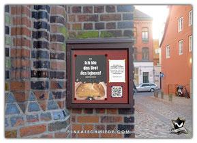 Schaukasten Kirche mit Poster, Plakat - Plakatschmiede.com, Brot des Lebens