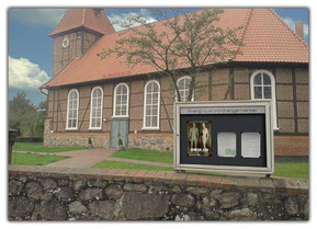 Schaukasten Ev.-Luth. Kirchengemeinde mit Plakat Genesis, Schöpfung - Plakatschmiede.com