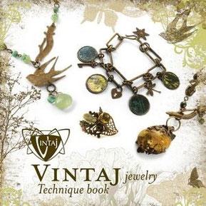 UK Stockist Vintaj Jewellery Technique Book