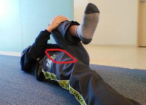 姿勢がいいのに腰痛の奈良県香芝市の女性