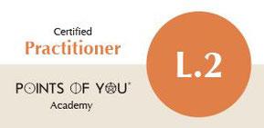 Certified Practitioner Points of You L.2, Andrea C. Müller, Quivit - Zürich, Basel