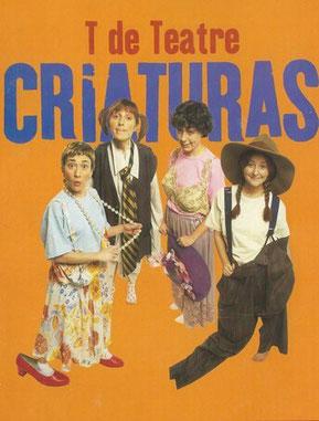 """Imatge del cartell de la versió castellana de """"Criatures""""."""