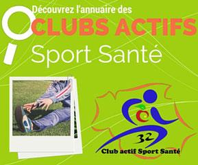 Annuaire des Clubs Actifs Sport Santé