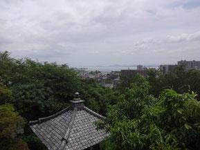 琵琶湖一望