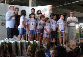 Lo stabilimento Noberasco di Albenga ha ospitato l'assegnazione delle maglie rosa del Giro di Savona Giovanissimi MTB 2009