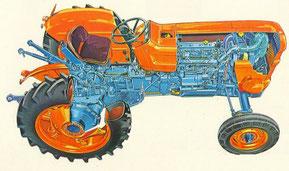Fiat 550 Traktor Technik