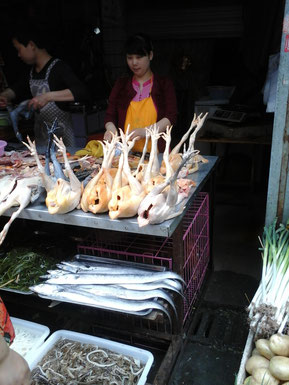 On a market in Chengdu - I like it :D