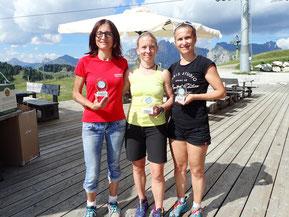 Women: 2. Oberrothmair Ingrid - GSC Linz AUT, 1. Gaube Nicole - GSV Karlsruhe GER, 3. Riedl Sabine - GSV Tirol AUT