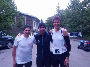Herren/Men: 2.Andreas Sporer AUT, 1.Andreas Santini ITA, 3.Georg Riedl AUT