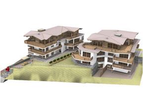 Haus, Architektur, Planung, 3D Planung,