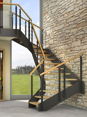 VIVA - Die Treppe fürs Leben - Holztreppe von BUCHER Treppen